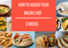 How to Adjust your 3 Weeks Macro Diet