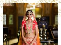 Red Designer Bridal Lehenga