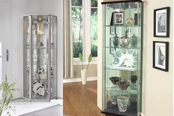 Corner Glass Display Cabinets
