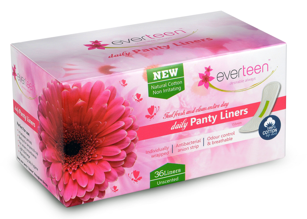 everteen panty liner