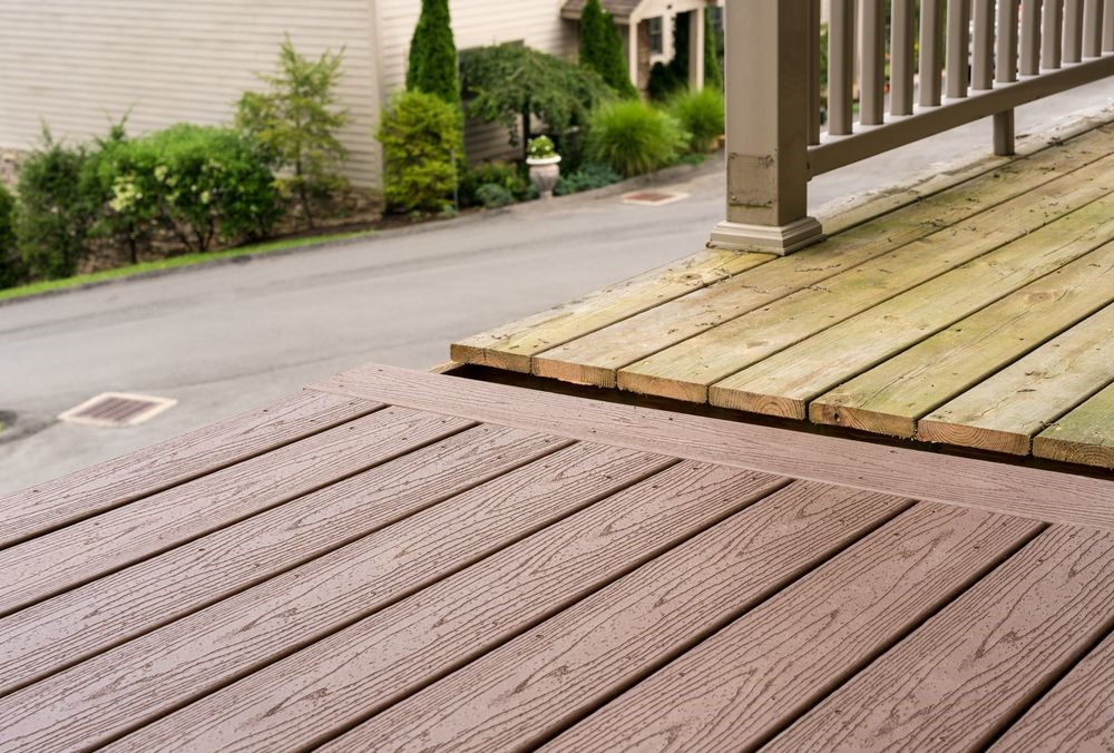 deck materials and labor