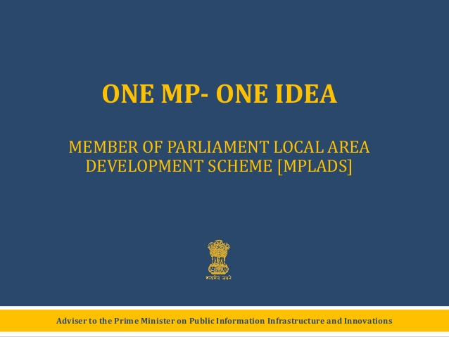 Member of Parliament Local Area Development Scheme
